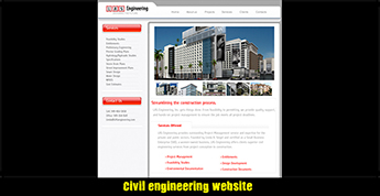LAS Engineering website